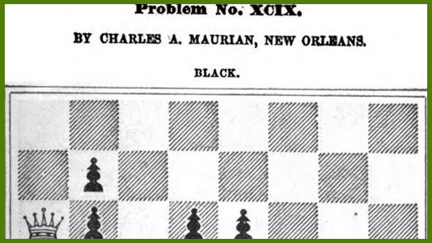Charles de Maurian: Problemist