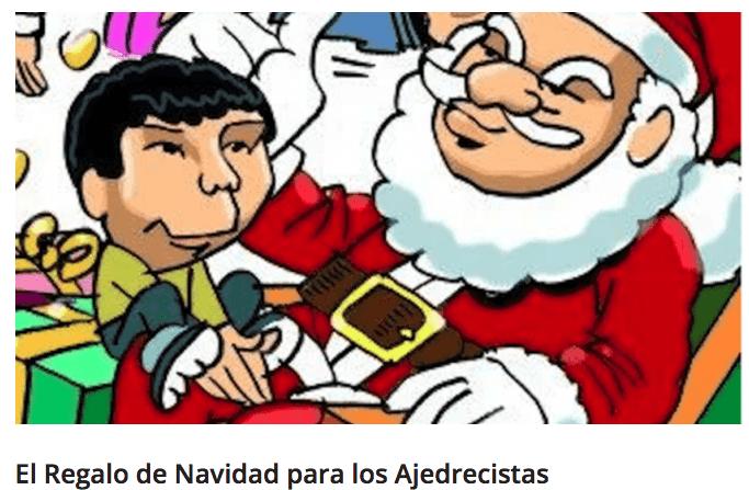 El Regalo de Navidad para los Ajedrecistas