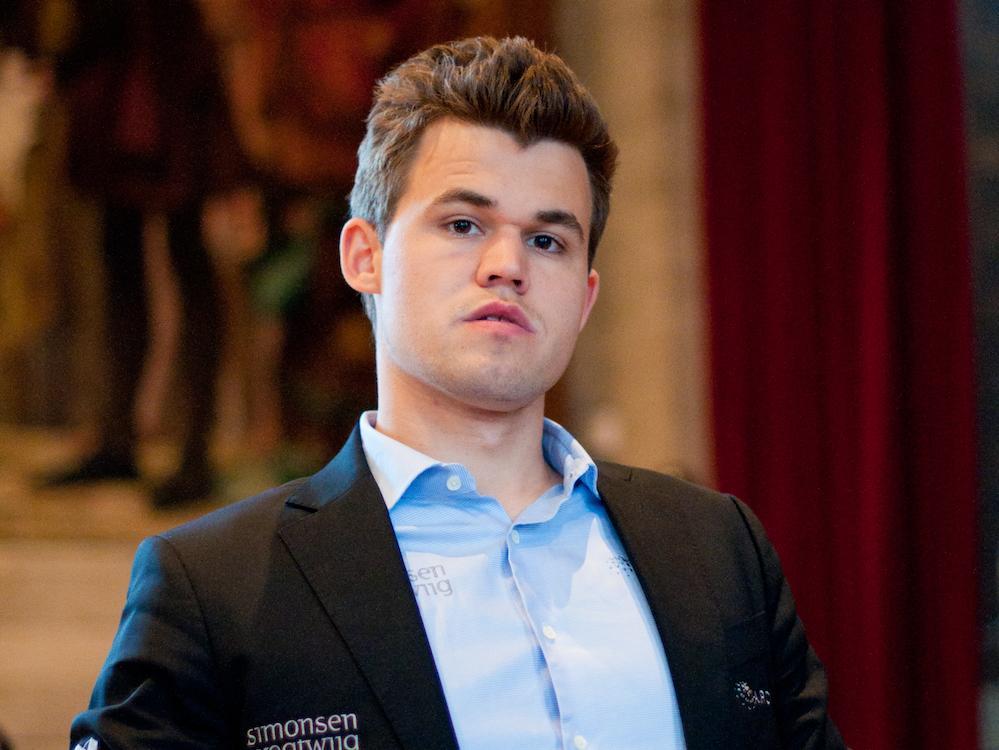Carlsen's Unlucky Endgame
