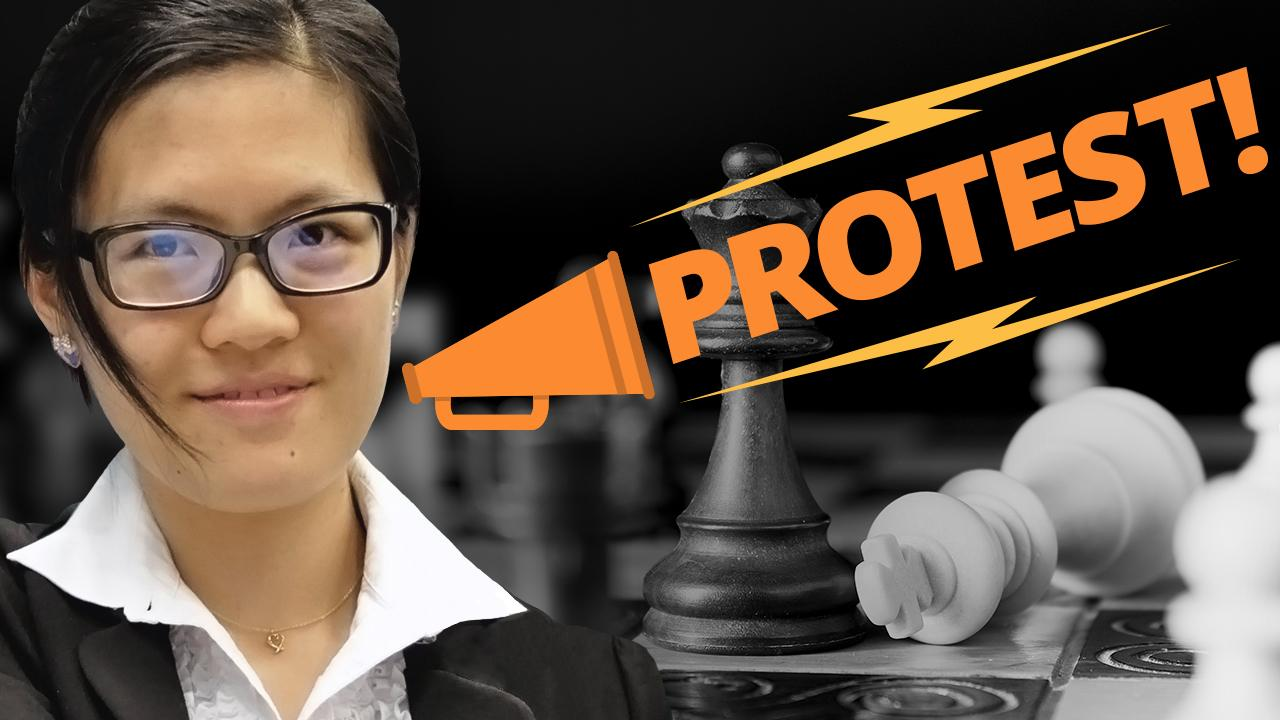 When Chess Players Protest
