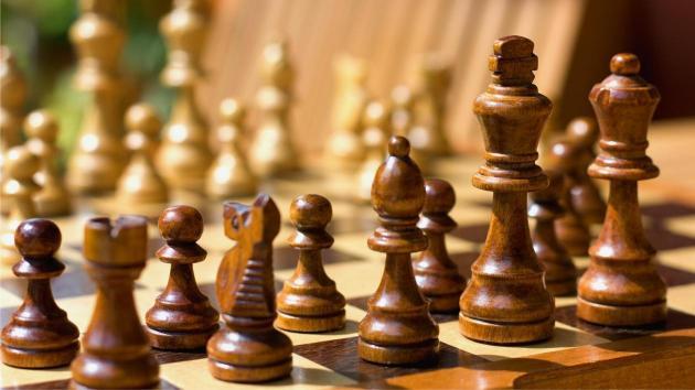 チェス対局の用意