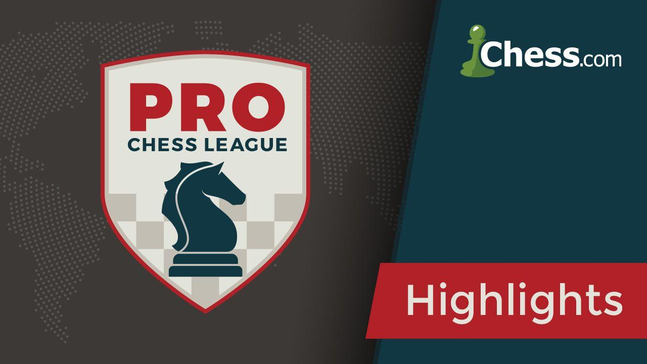 PRO Chess League Top Performers