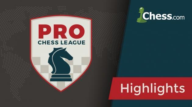 Melhores Classificados na PRO Chess League