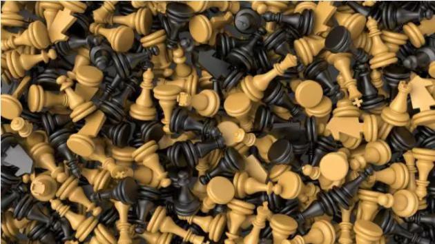 Cómo colocar un tablero de ajedrez