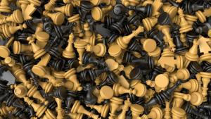 Hur man ställer upp ett schackbräde miniatyr