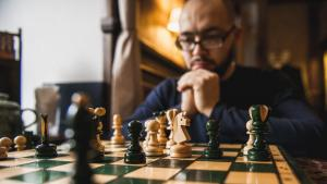Hur man blir bra på schack miniatyr