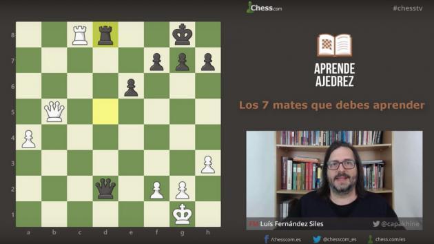 Los 7 mates imprescindibles para ganar en ajedrez