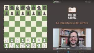 Miniatura de La importancia del centro para ganar en ajedrez