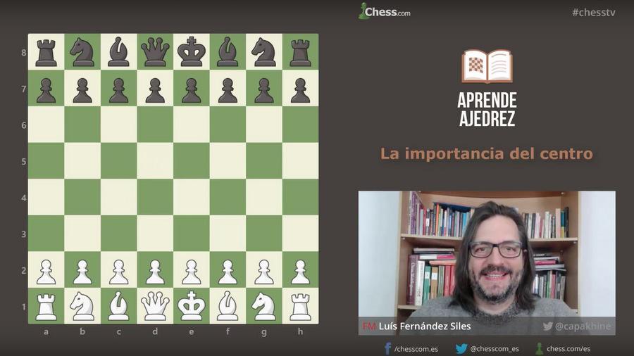 La importancia del centro para ganar en ajedrez