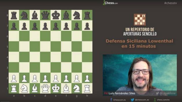 La Defensa Siciliana Lowenthal en 15 minutos