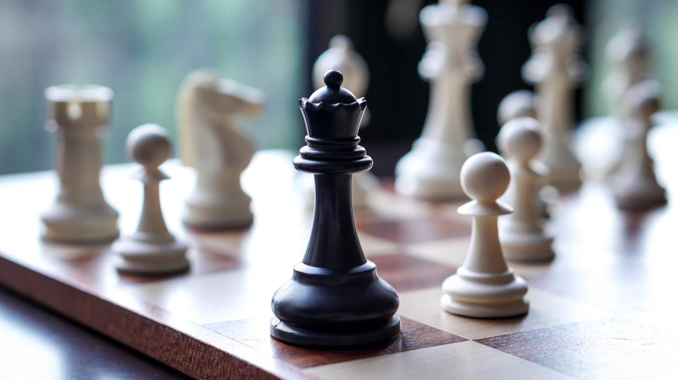 Chess game featuring Fool's Mate style checkmate, after an ... |Chess Fools Mate