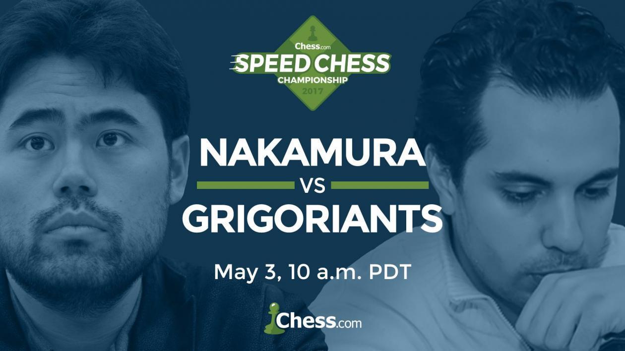 Chess.com zeigt alle Partien der Speedschach-Meisterschaft Live!
