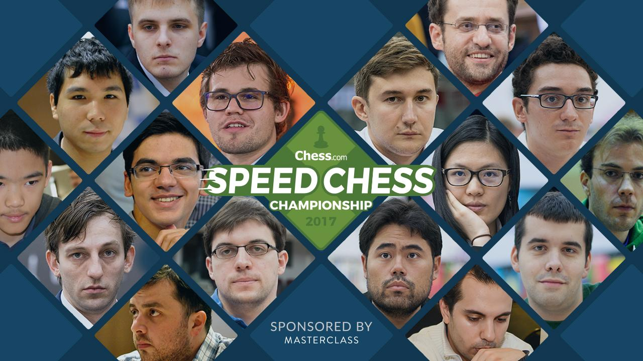 2017 Speed Chess Championship Schedule, Results, Information
