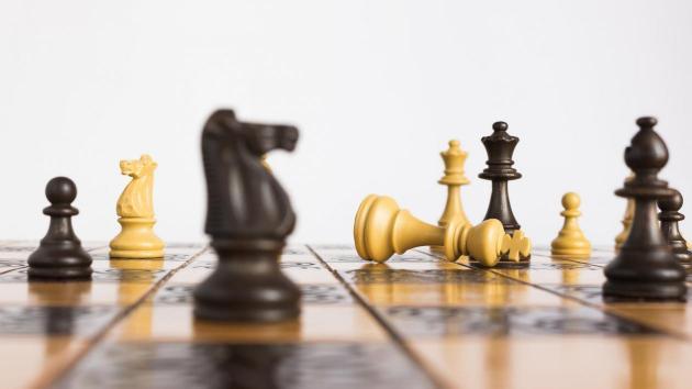 Seu primeiro conjunto de xadrez