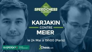 Comment suivre le match Karjakin Meier ce soir en Français