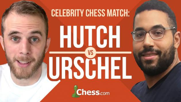 Celebrity Chess: Hutch vs Urschel