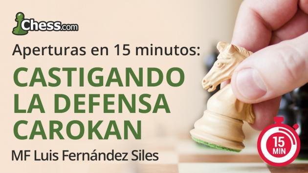 Cómo castigar la Defensa Caro-Kann en 15 minutos