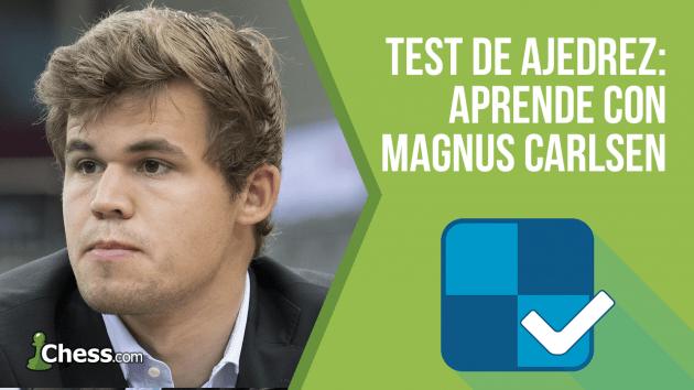 Test de ajedrez - Comprueba tu nivel con Magnus Carlsen
