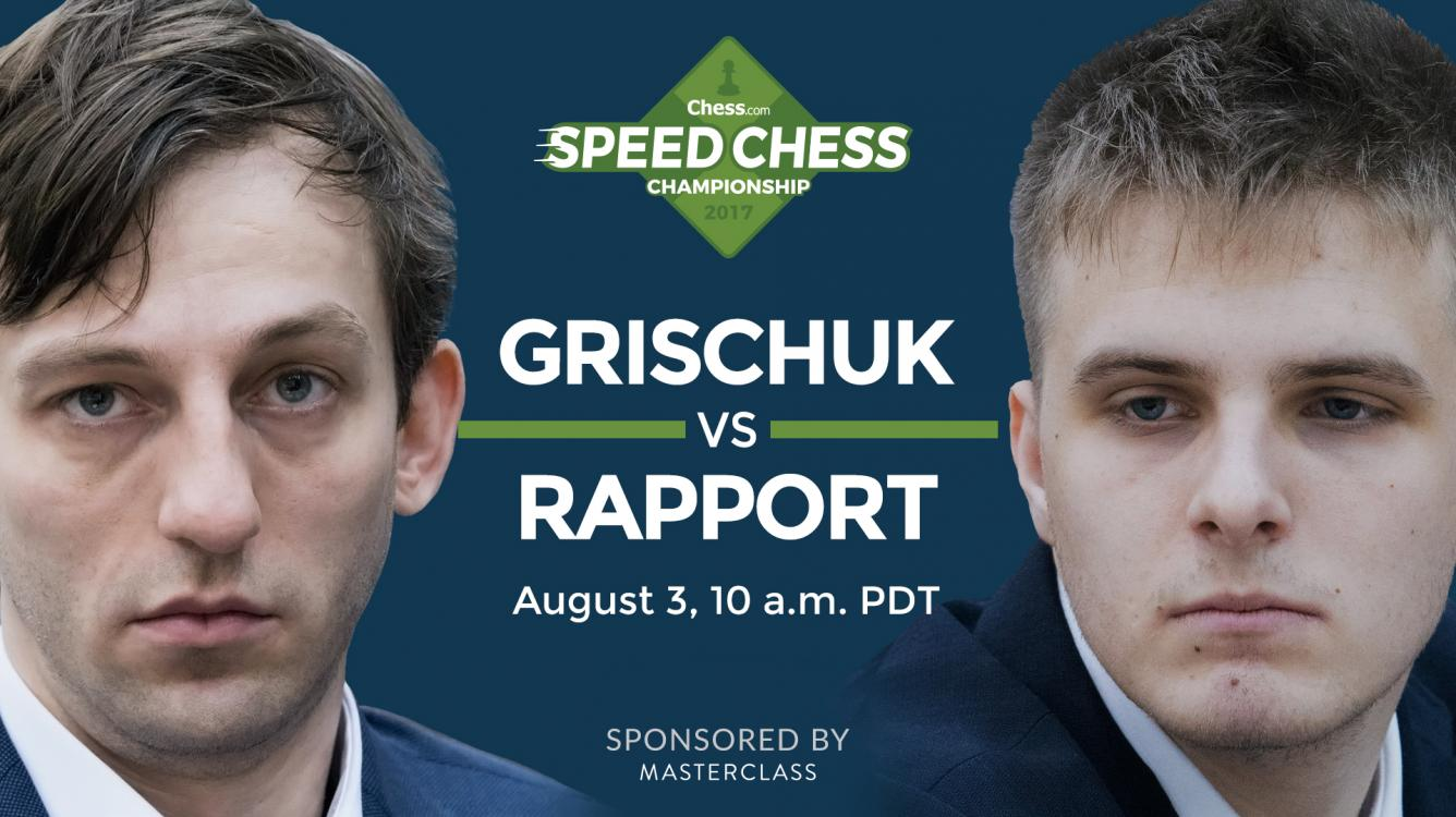 How To Watch Grischuk vs Rapport Speed Chess Champs Today