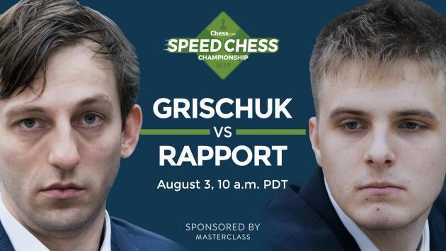 So könnt Ihr das Achtelfinale der Speedchess Meisterschaft Grischuk gegen Rapport ansehen
