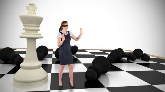 Wieviele Züge kann ein Schachspieler vorausberechnen?
