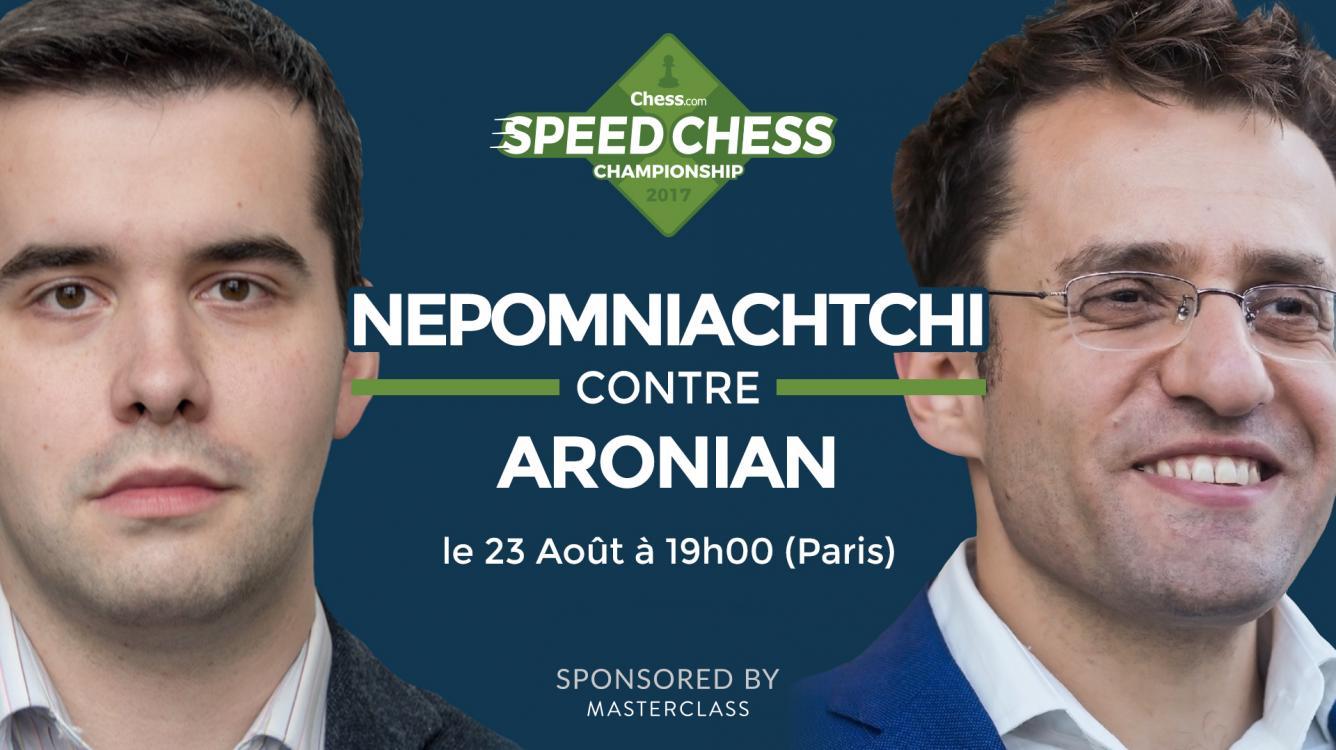 Comment regarder Nepomniachtchi contre Aronian ce soir