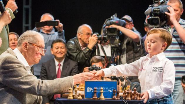 Die jüngsten Schach Stars