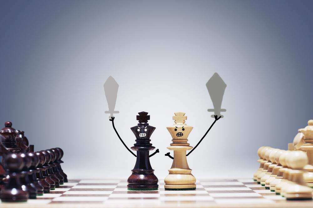 Burde du frykte symmetriske stillinger?