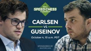 Miniatura de Como Observar Hoje Magnus Carlsen vs Guseinov: Speed Chess Champs