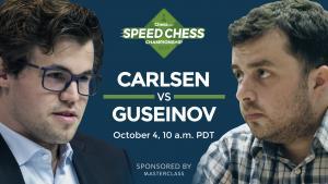 Miniatura di Come Vedere Oggi Magnus Carlsen vs Guseinov: Campionato di Speed Chess