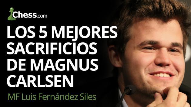 Los 5 mejores sacrificios de Magnus Carlsen