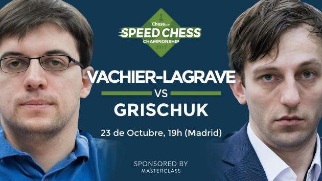 Cómo ver el match entre MVL y Grischuk del Speed Chess