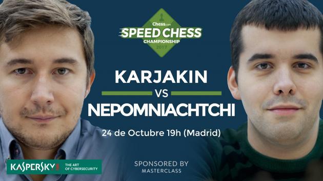 Speed Chess - Cómo ver el match Karjakin-Nepomniachtchi