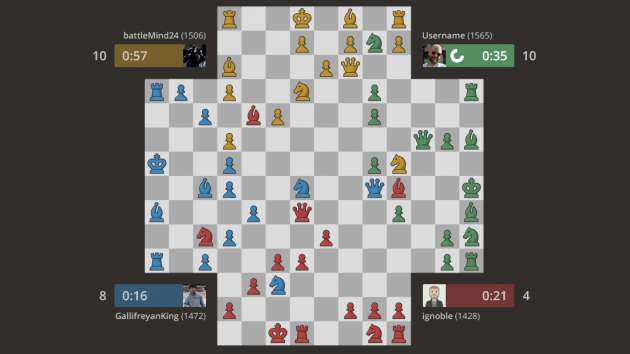 A win win chess game
