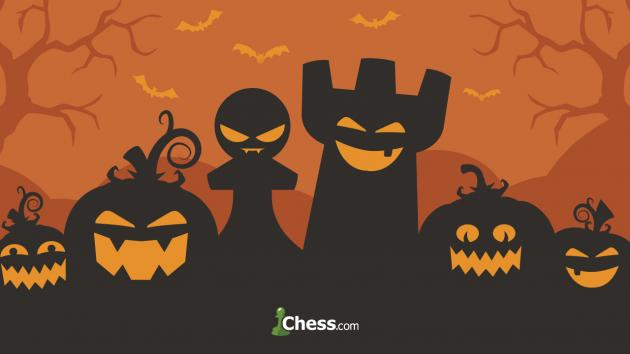 The 12 Spookiest Chess Faces