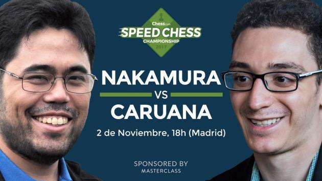 Speed Chess - cómo ver el match entre Nakamura y Caruana