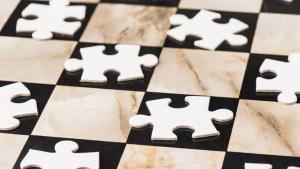 Miniatura de Problemas de ajedrez para jugadores a partir de 1400