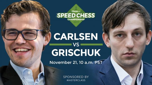How To Watch Carlsen vs Grischuk Speed Chess Champs Today