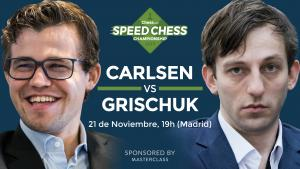 Miniatura de Previa del match entre Carlsen y Grischuk del Speed Chess