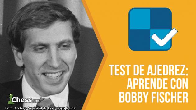 Test de Ajedrez   Comprueba tu nivel con Bobby Fischer