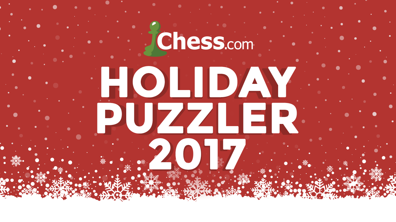 Can You Solve Our 2017 Holiday Puzzler?