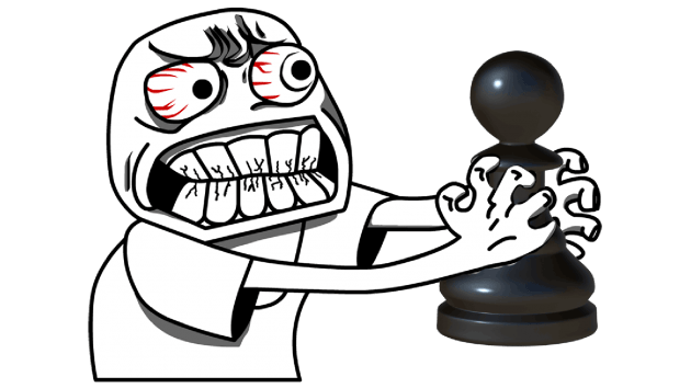 'His Pawn Cheated And Killed My Pawn!'