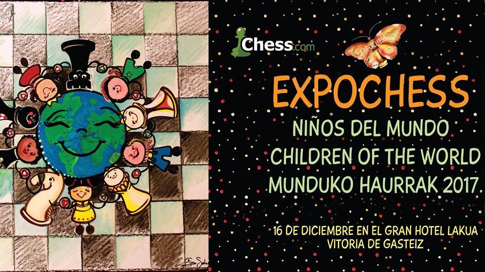 EXPOCHESS niños del mundo 2017 (Ajedrez y Cultura)