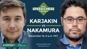 How To Watch Karjakin vs Nakamura Saturday: Speed Chess Champs's Thumbnail