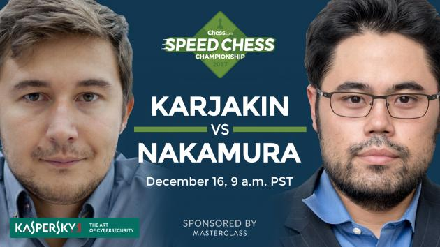 How To Watch Karjakin vs Nakamura Saturday: Speed Chess Champs
