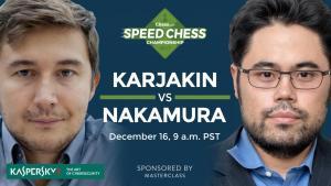 Come Vedere Sabato Karjakin vs Nakamura: Campionato di Speed Chess