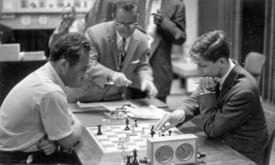 Efim Geller gegen Bobby Fischer