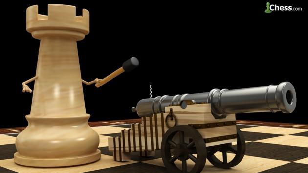 Ajedrez para valientes: el doble sacrificio de torre
