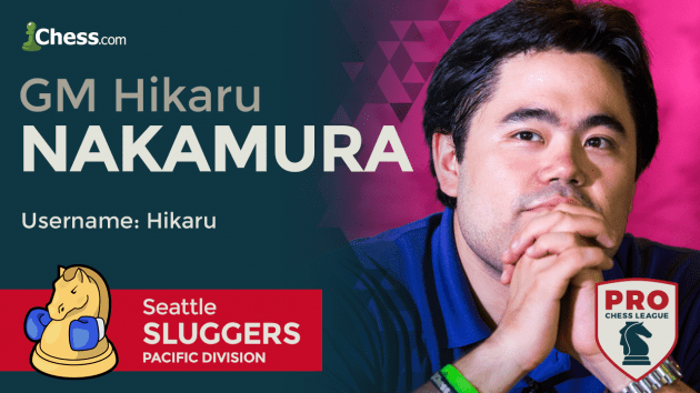 Nakamura Headlines PRO Chess League Round 2