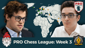 Carlsen, Caruana Headline PRO Chess Week 3